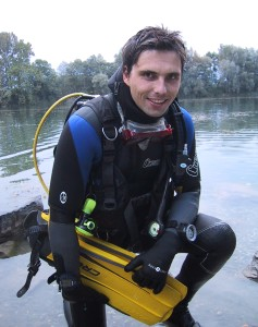 Myself after diving.